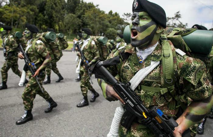 Fuerzas Armadas. Foto: EFE
