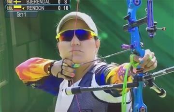 Río 2016: Ana María Rendón eliminada de tiro con arco