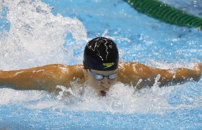 Río 2016: Top 15 para Jonathan Gómez en natación