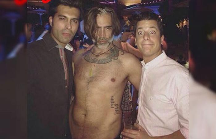Alejandro Fernández y su fiesta en Las Vegas