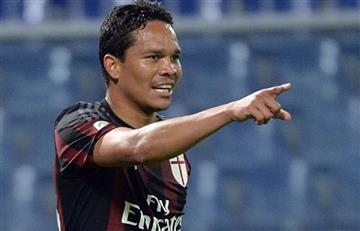 Carlos Bacca vuelve a ser tenido en cuenta en el AC Milan
