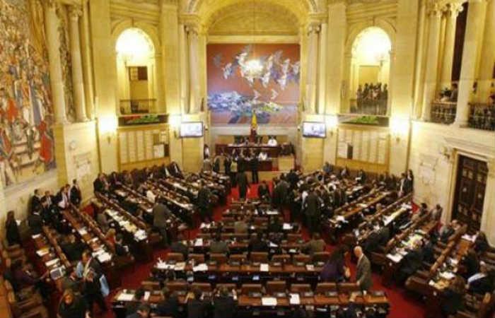 Congreso de la República. Foto: EFE