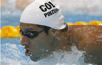 Río 2016: Omar Pinzón llega séptimo en los 200 metros espalda