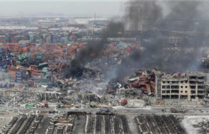 Explosión en China deja 21 muertos