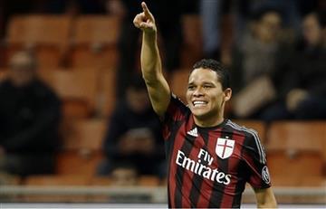 Carlos Bacca no se va del AC Milan