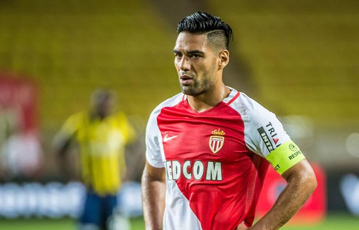 Falcao García no jugó en el primer partido y Mónaco empató. Foto: Facebook