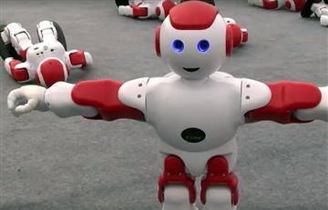 Baile de 1000 robots, es récord Guinness