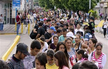 Cerca de20.000 venezolanos cruzana Colombia en las primeras horas