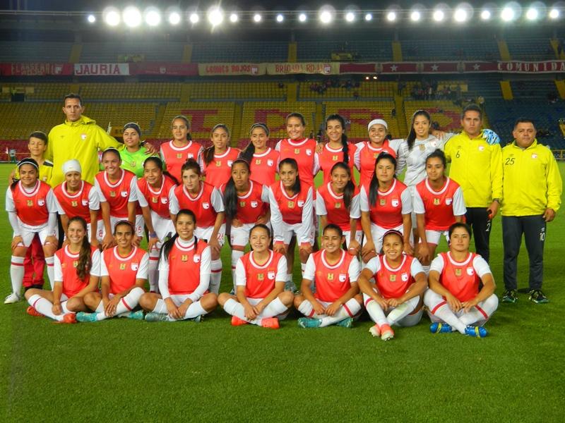 FOTOS: Santa Fe presentó su equipo profesional femenino
