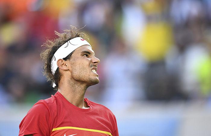 Rafael Nadal perdió su pase a la gran final. Foto: EFE