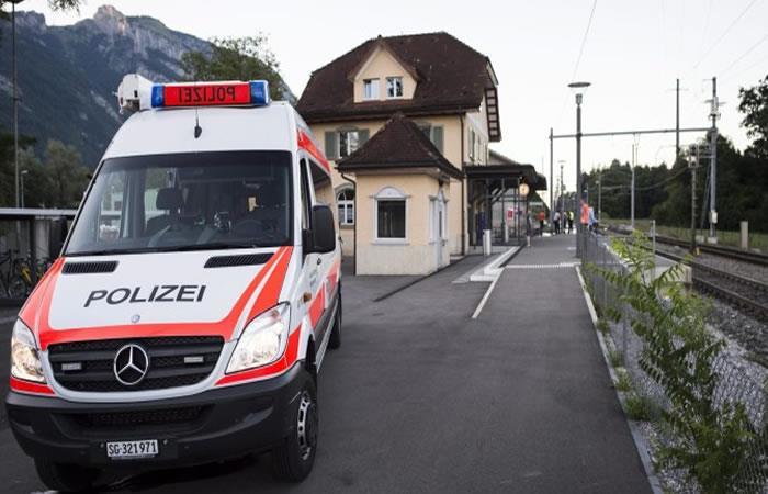 Fallece una de las mujeres heridas en tren en Suiza