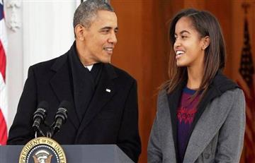 ¿Hija de Obama fumó marihuana en el Lollapalooza?
