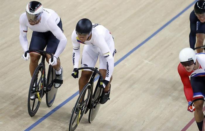 Río 2016: Fernando Gaviria terminó quinto en la primera prueba de ómnium