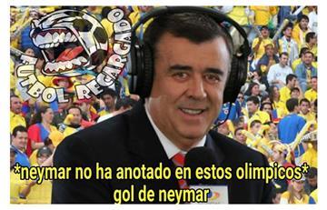 Río 2016: Los mejores memes del partido Colombia vs Brasil