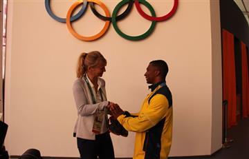 Río 2016: Óscar Figueroa es oficialmente 'leyenda' de los olímpicos