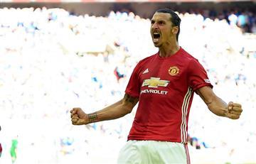 Zlatan Ibrahimovic se despacha tras el partido del Manchester United