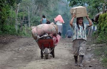La guerra desplaza a 923 colombianos en Norte de Santander