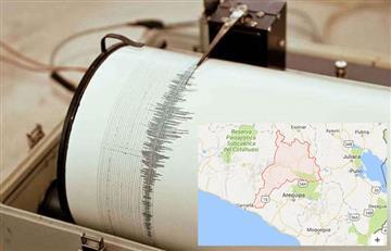 Perú: Sismo de 5.2 de la escala de Ritcher región de Arequipa