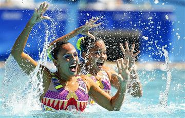 Río 2016: Colombianas hicieron una buena presentación en nado sincronizado