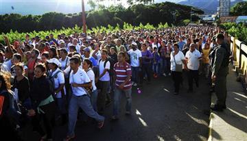 Tránsito peatonal de frontera colombo-venezolana disminuyó 35%