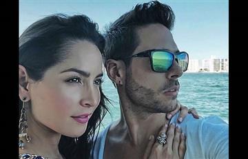 Carmen Villalobos y Sebastián Caicedo luchan contra la distancia