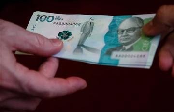 En 2017 los cajeros deberán entregar billetes de 100 mil pesos