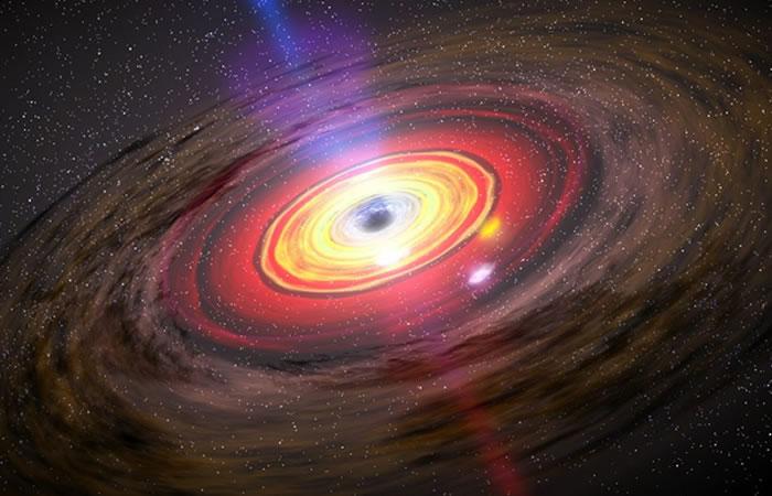 Hallan partículas capaces de evadir un agujero negro
