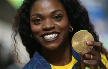 Río 2016: Así sonó el himno de Colombia cuando Caterine Ibargüen ganó el oro