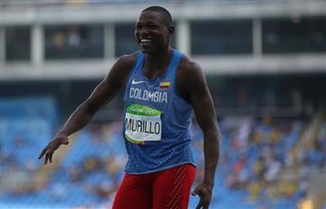 Río 2016: Jhon Murillo queda quinto en Salto Triple