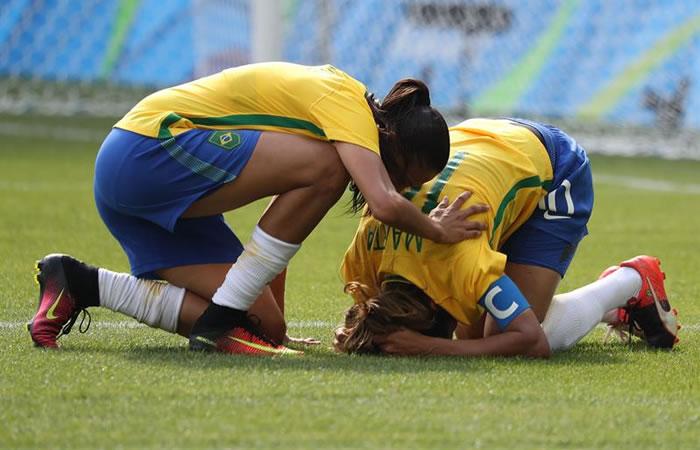 Río 2016: 'Maracanazo' de Suecia a Brasil en fútbol femenino