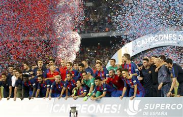 Barcelona se corona supercampeón de España