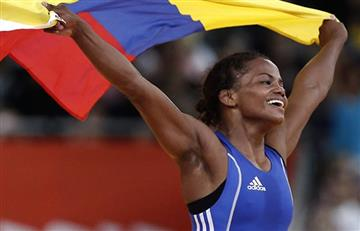 Río 2016: Jackeline Rentería, con paliza, pasa a cuartos de final de Lucha