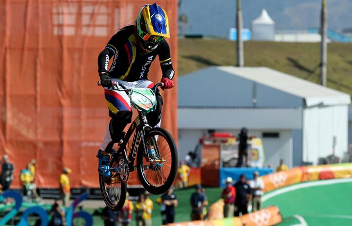 Río 2016: Mariana Pajón y sus primeros pedalazos