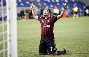 Carlos Bacca aseguró que se quedará en el Milan