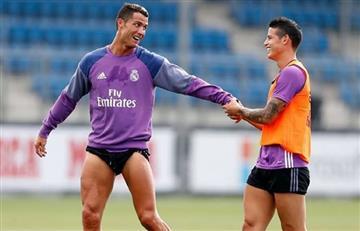 James Rodríguez: Cristiano Ronaldo no quiere que el colombiano se marche