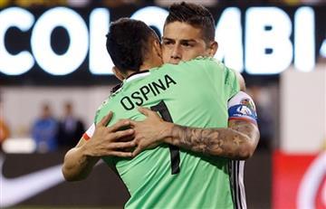 James Rodríguez y David Ospina podrían jugar en el mismo equipo