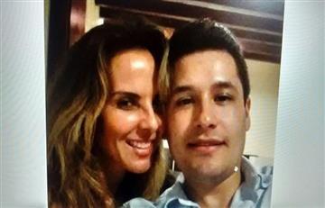 """Kate del Castillo en foto junto al hijo del capo """"El chapo"""" Guzmán"""
