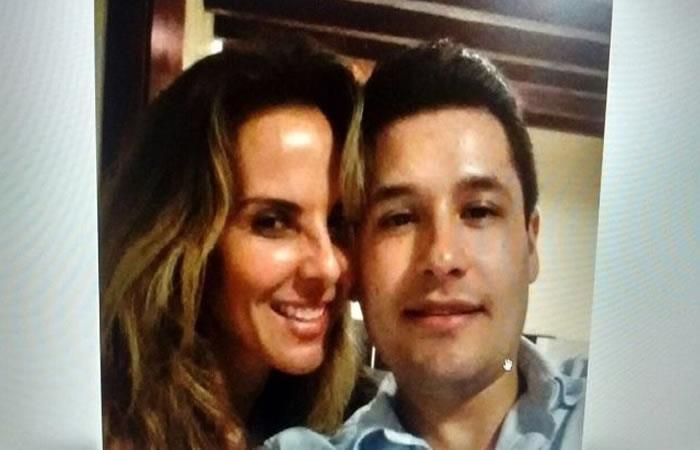 Kate del Castillo en foto junto al hijo del capo 'El chapo' Guzmán