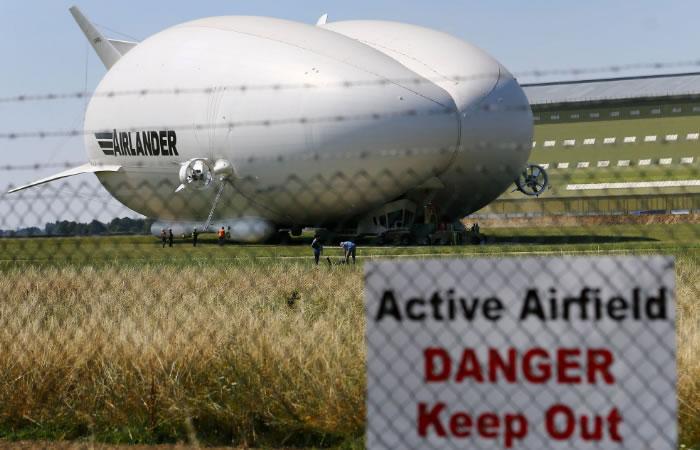 La aeronave más grande del mundo ha realizado su primer vuelo