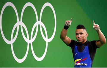 Luis Javier Mosquera recibe bronce en pesas
