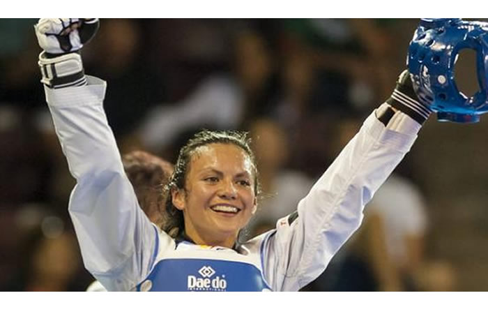 Río 2016: Colombiana Doris Patiño, cae en Taekwondo.