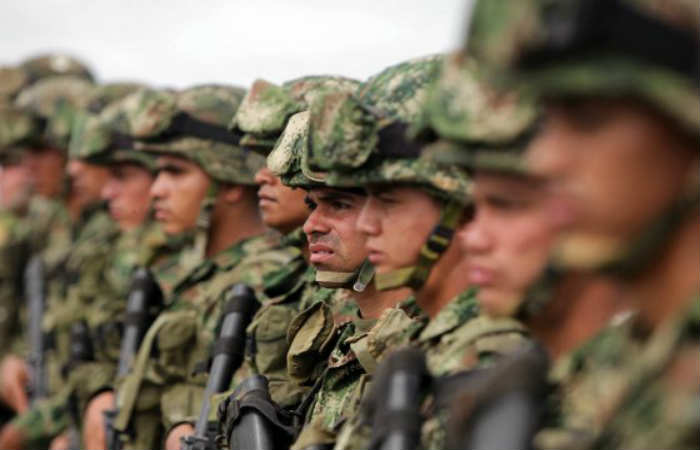 Fuerza Pública colombiana. Foto: EFE