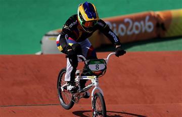 Río 2016: Carlos Ramírez en BMX medalla de bronce