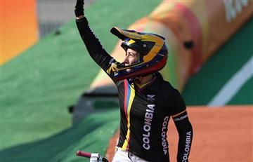 Río 2016: Mariana Pajón y la emoción del Himno de Colombia
