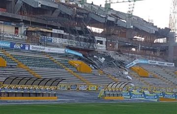 Muertos y heridos tras la caída de una tribuna en el estadio de Neiva