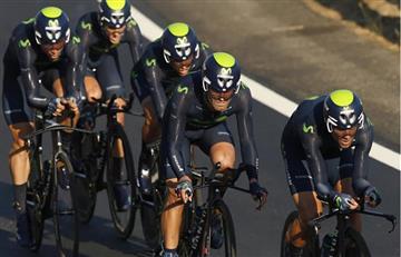 Nairo Quintana y su equipo segundos en la primera etapa de la Vuelta a España