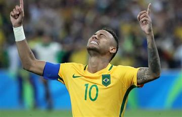 Neymar renunció a la capitanía de Brasil