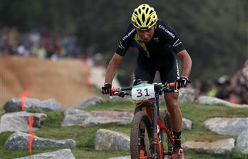 Río 2016: Jhonnatan Botero ganó diploma olímpico en ciclismo de montaña