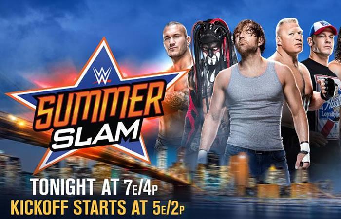 WWE: SummerSlam en vivo online