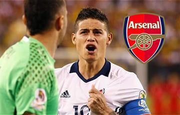 David Ospina habla con James Rodríguez para que juegue en el Arsenal